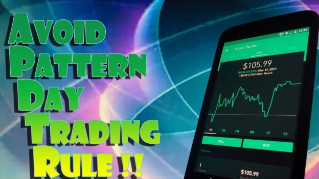 Robinhood APP How To AVOID The PATTERN DAY TRADER RULE For U Best Pattern Day Trader Rule